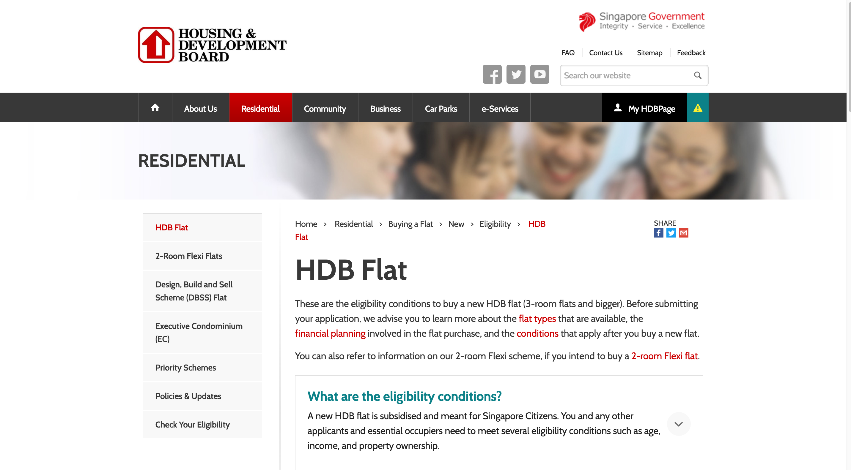 Design features hdb infoweb - Buying A New Flat
